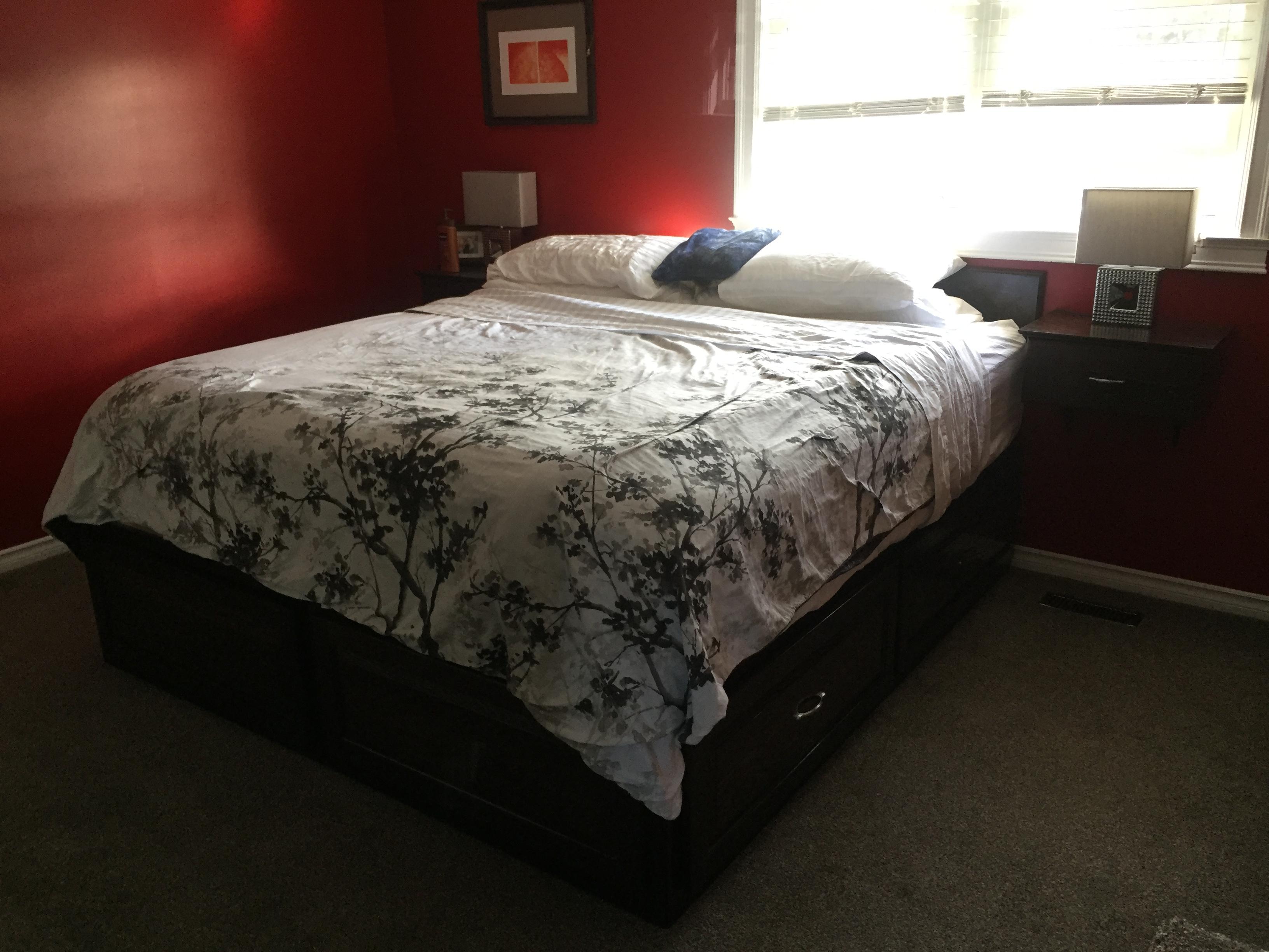 Wenge Bed Set