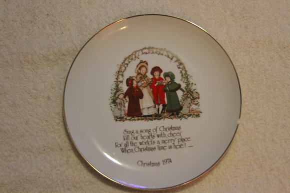 Christmas China Plate