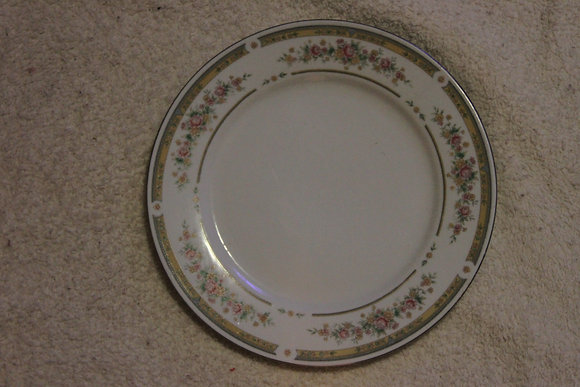 Floral Bordered Plate