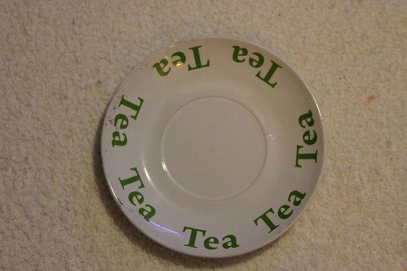 Tea Bordered Plate