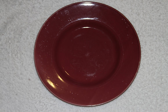 Single Red Plate