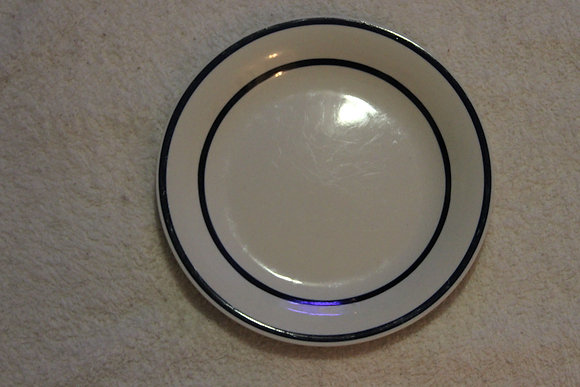 Blue Bordered Plate
