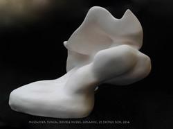Double Nudes by Muzaffer Tunca