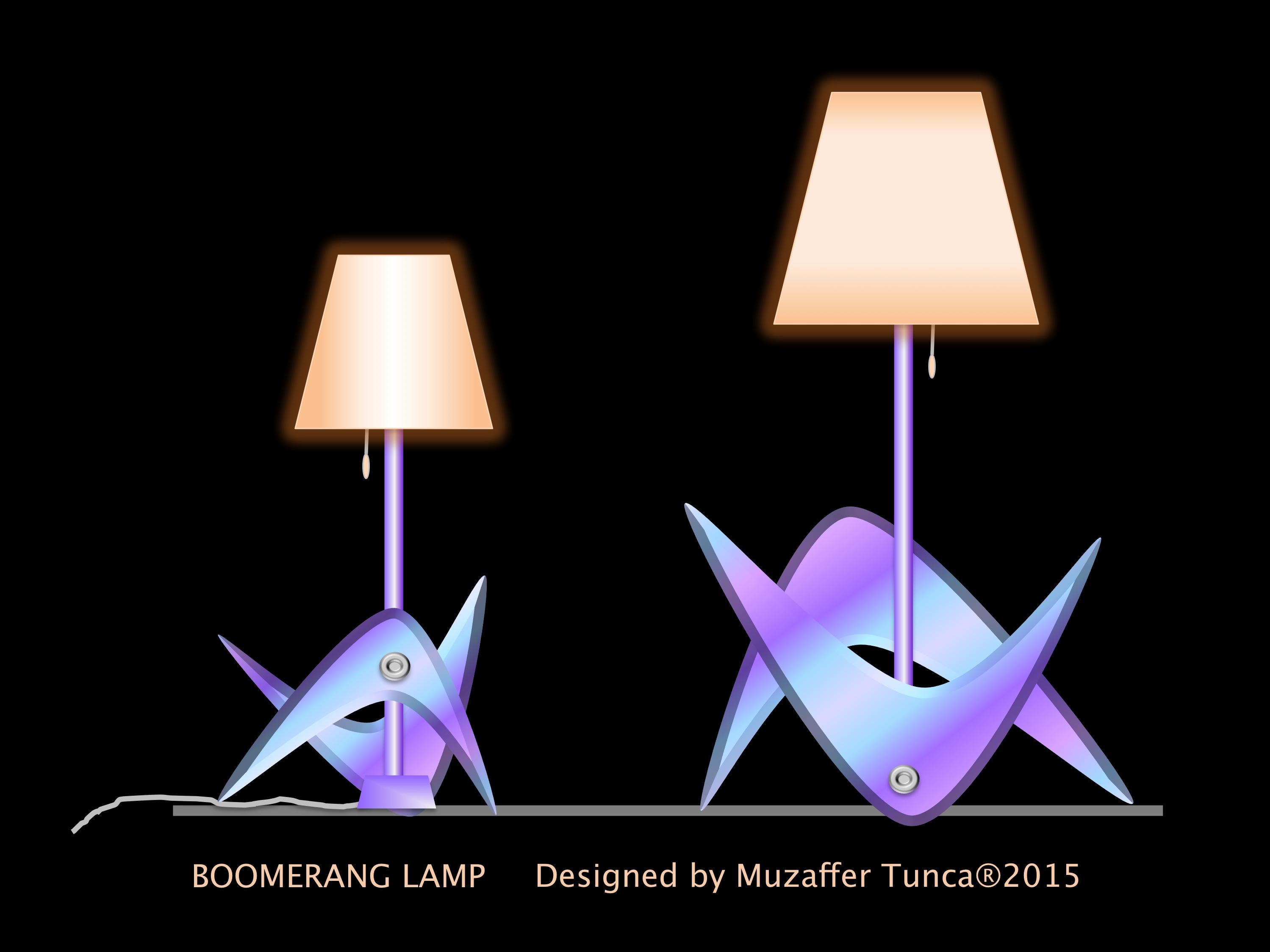 BOOMERANG LAMP-2