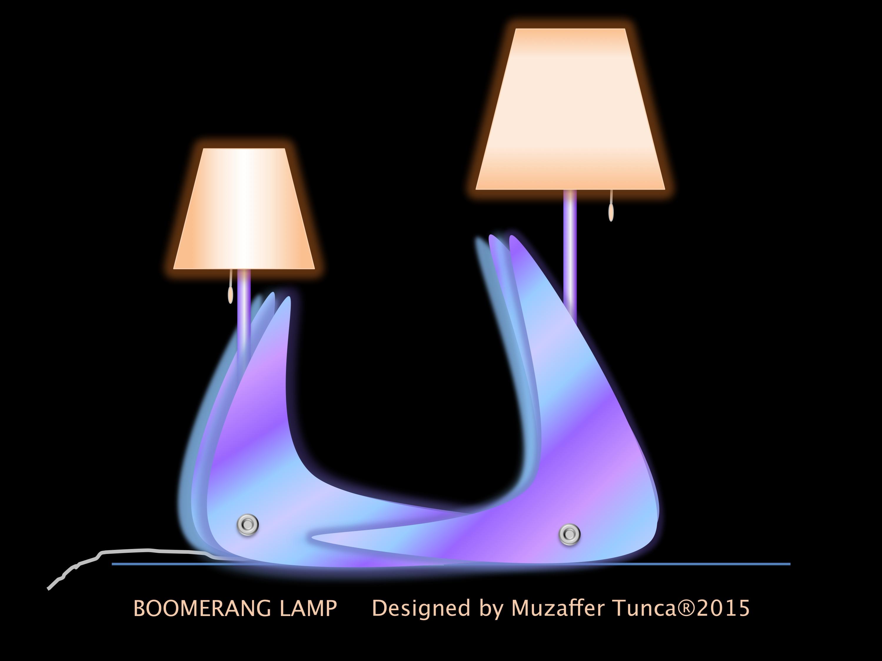 BOOMERANG LAMP