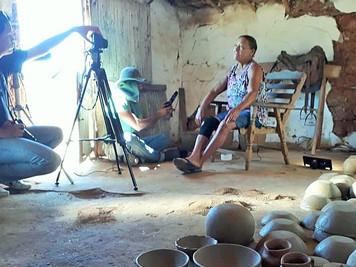 Tem início as gravações do documentário sobre Mulheres Quilombolas realizado pelo Semear, com a co-p