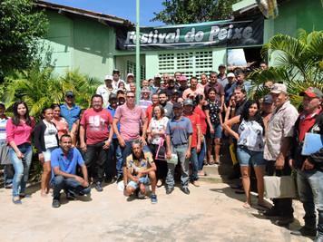 Cooperativa apoiada pelo Procase organiza o 5º Festival do Peixe em Camalaú