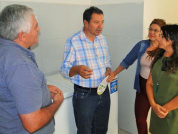 Aristeu Chaves participa de reunião com beneficiários das Casas da Economia Solidária de Soledade, S