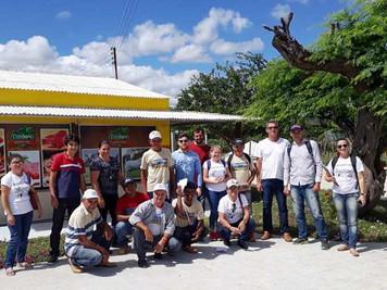Beneficiários do Procase realizam intercâmbio com cooperativa de Pernambuco