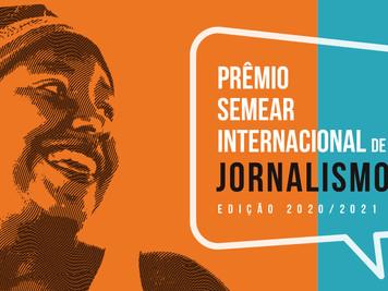 Relançamento do PRÊMIO SEMEAR INTERNACIONAL DE JORNALISMO