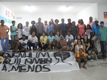 Comunidade quilombola atendida pelo Procase realiza evento para entrega de certificação de auto reco