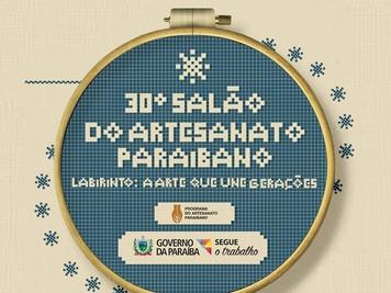 Associações atendidas pelo Procase participam do 30º Salão do Artesanato Paraibano