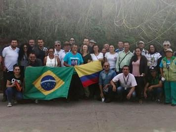 Representantes do Procase participam de Intercâmbio de trocas de experiências rurais na Colômbia