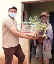 Distribuição de Mudas Gera Renda aos Viveiricultores Paraibanos e Estimula a Agricultura Sintrópica