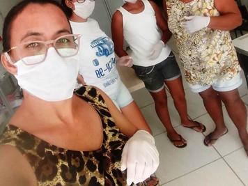Artesãs paraibanas produzem máscaras para enfrentar crise do coronavírus