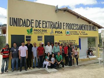 Procase Inaugura Casa de Extração e Processamento de Mel em São José dos Cordeiros