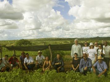 Representantes do IICA no Brasil e Programa Semear Internacional visitam ações do Procase