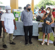 Kits de EPI'S são distribuídos para agricultores na Feira Agroecológica de Sumé