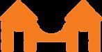 The WHA Logo. An orange bridge.