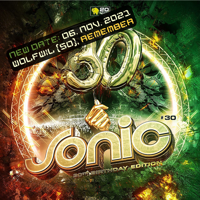 Sonic #30 Techno Rave