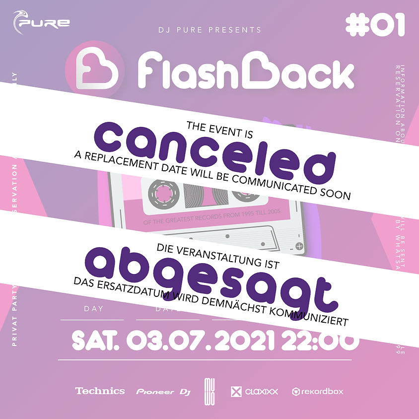 !!! CANCELED !!! Flashback #01 Summer Edition by DJ Pure