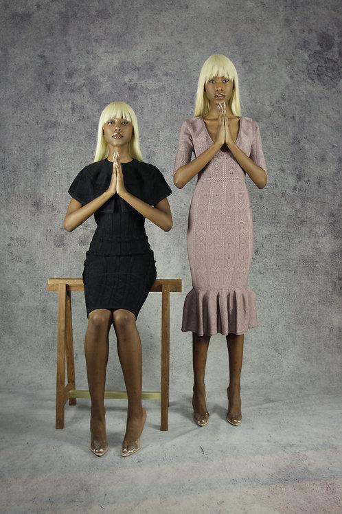 Nude Corset Dress