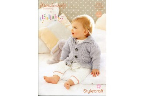 Stylecraft 9154 Knitting Pattern Baby Coats Jackets in Wondersoft and Lullaby DK