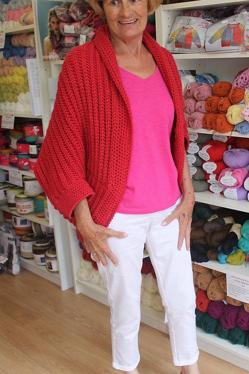 Bronwyn Crochet Shrug Pattern Digital Download
