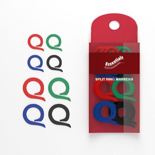 Split Ring Stitch Markers-Pack of 24