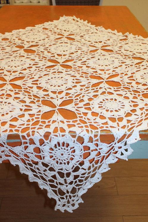 Crocheted Heirloom Christening Blanket