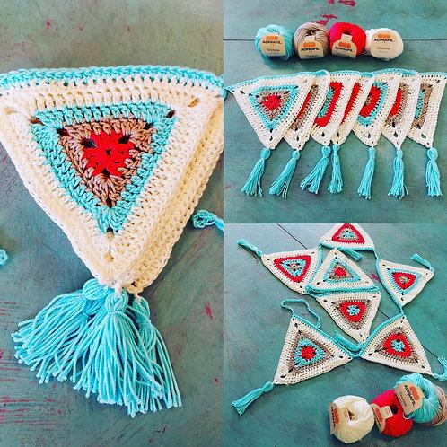 Summer Bunting Crochet Pack