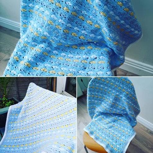 Baby Heart Crochet Blanket Pack