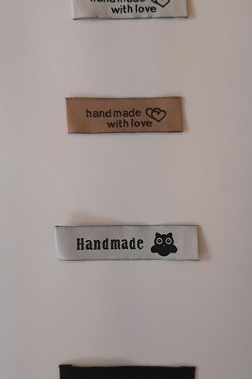 Garment Labels 50mm=Pack of 5
