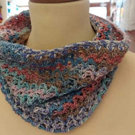 Duo Plus Crochet Cowl Pack