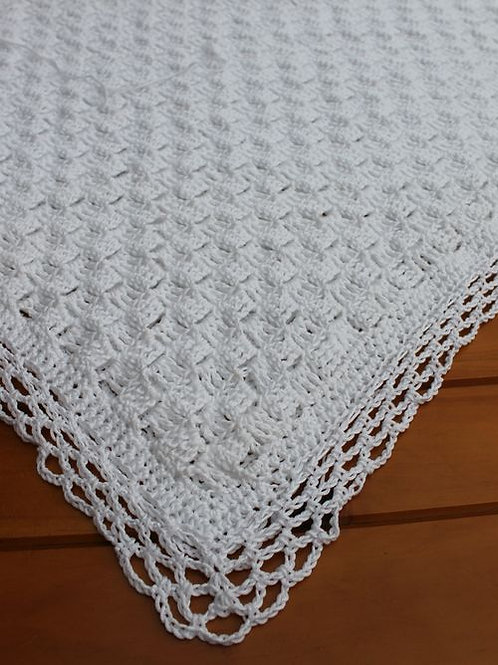 Crocheted C2C  Christening Blanket Pack