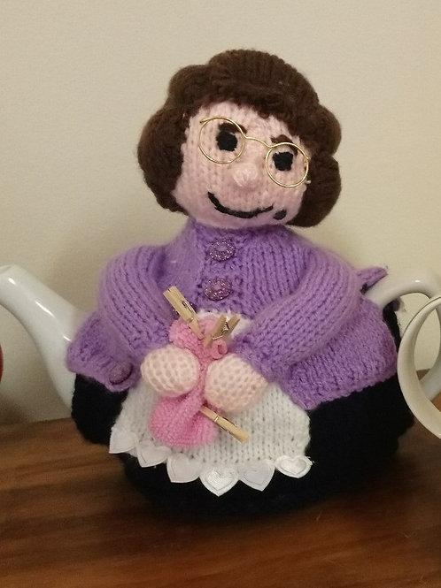 Mrs Brown Tea Cosy Pattern Digital Download