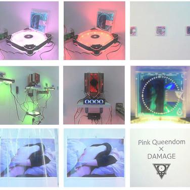 """Ganka Gallery """"Pink Queendom x Damage"""" 2016"""