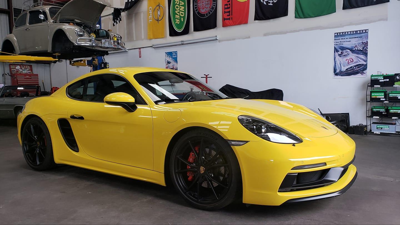 Yellow Cayman