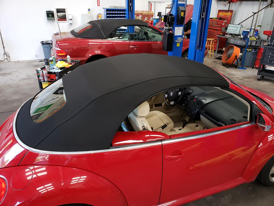 New Convertible Top