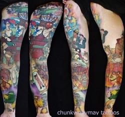 Futurama tattoo 2013-2014
