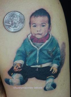 portrait tattoo 2014