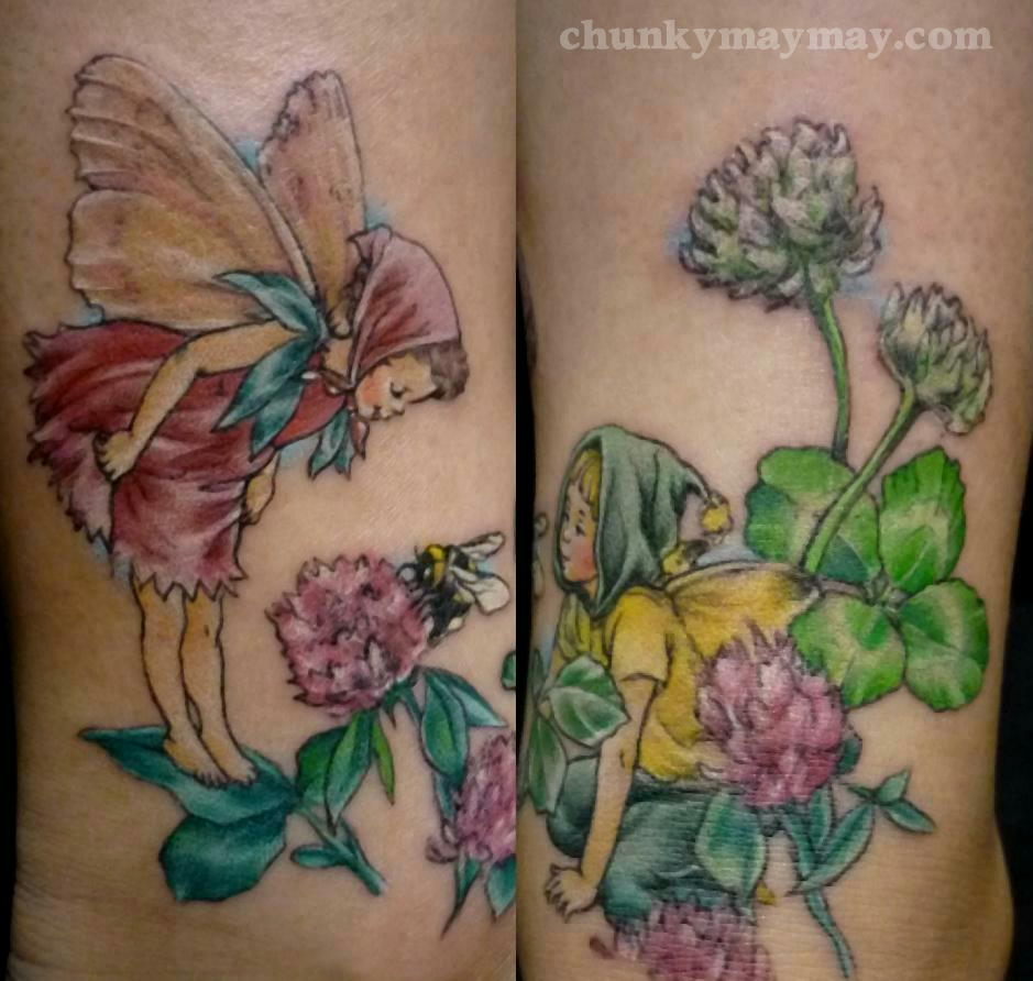 Cicely Mary Barker tattoo 2012.jpg
