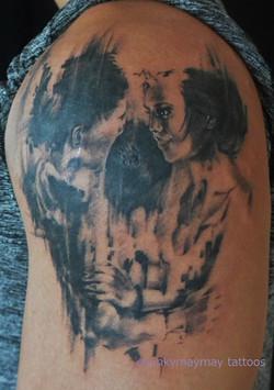 Tom French skull 2016