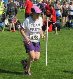 Run in UK  Freya's