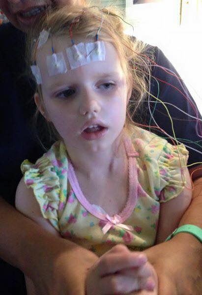 """""""Everyday PCDH19 epilepsy steals away another piece of my child. She has no quality of life, no childhood."""" Helen O."""