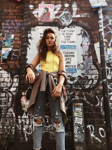 Brick Lane Grafitti London 2017