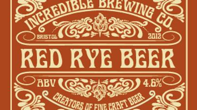 CASE OF 12 500ML BOTTLE RED RYE BEER