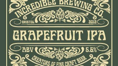 CASE OF 12 x 500ml BOTTLE GRAPEFRUIT IPA