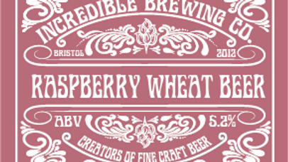 CASE OF 12 RASPBERRY WHEAT BEER