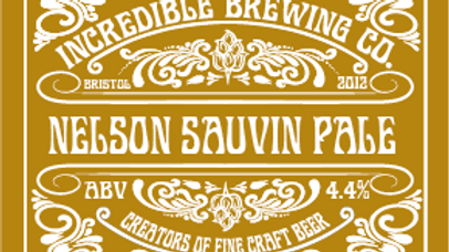 copy of CASE OF 12 NELSON SAUVIN PALE ALE